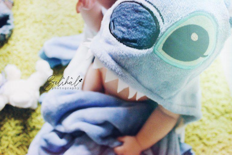 Babyfotografie - Stitch Kostüm - Hilal Yildiz auf Selîhâl Photography